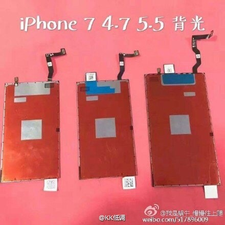 Hình ảnh được cho là tấm nền của iPhone 7 và iPhone 7 Plus