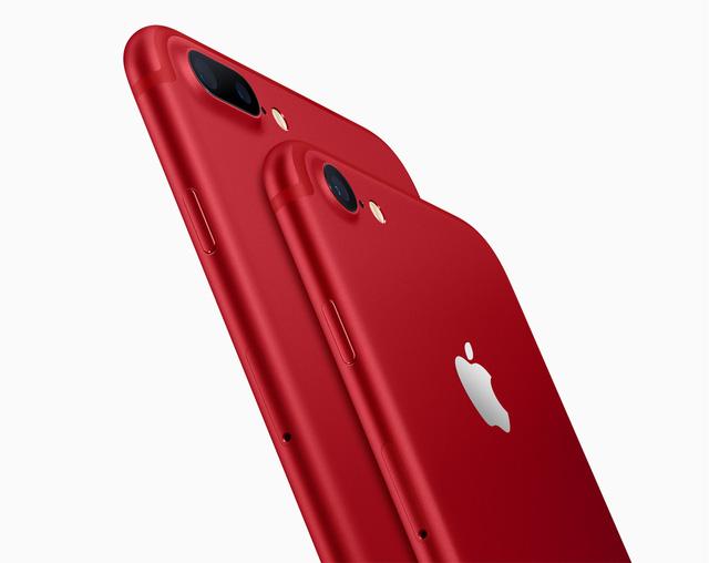 iPHone 7, 7 Plus màu đỏ