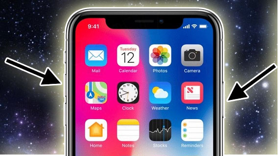 2 cách chụp màn hình trên iPhone XS Max đơn giản hình 1