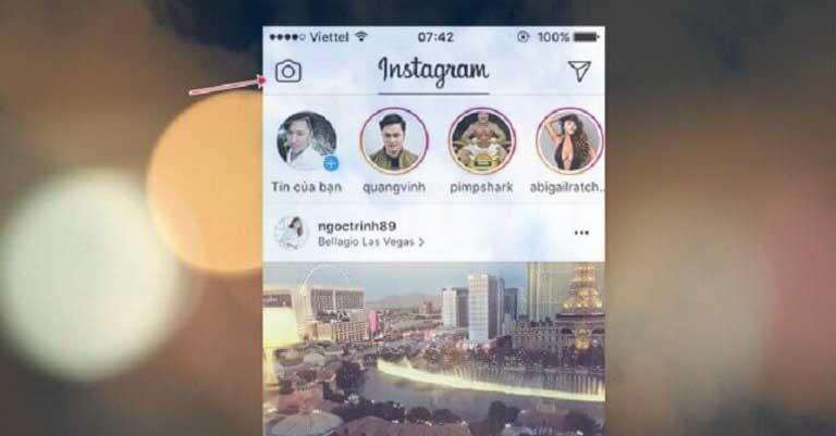 Cách tải ảnh lên instagram trên iPhone XS Max để chia sẻ với bạn bè